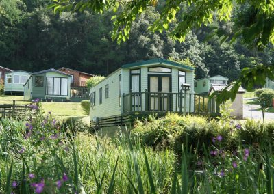luxury caravans wales