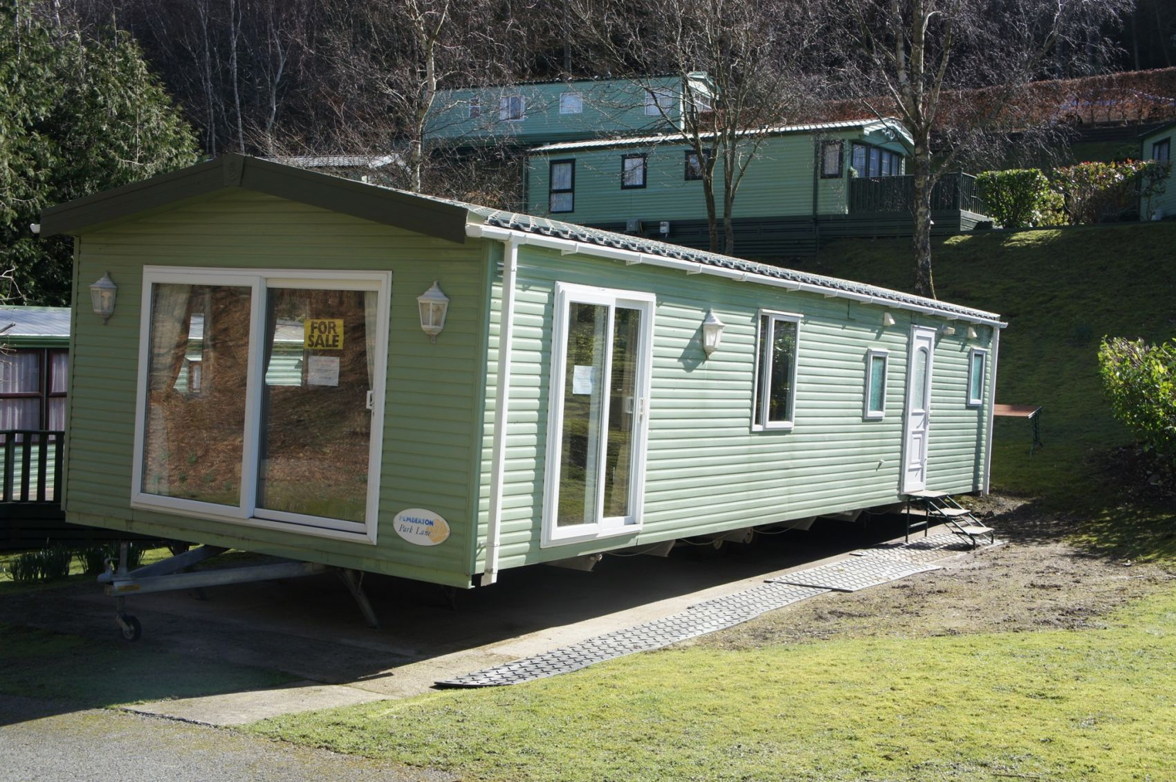 Holiday homes lodges for sale in bala snowdonia north for Pemberton cabins