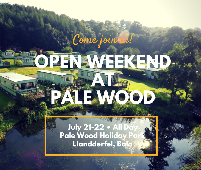 The Pale Wood Open Weekend in July